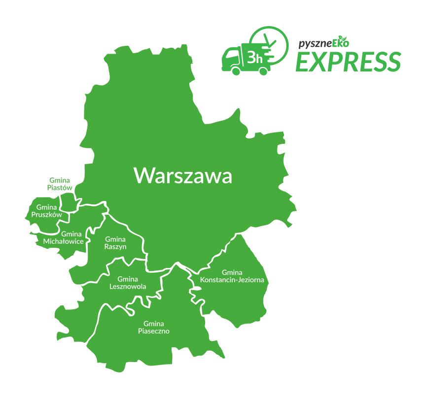 Dostawa Pyszneeko Express