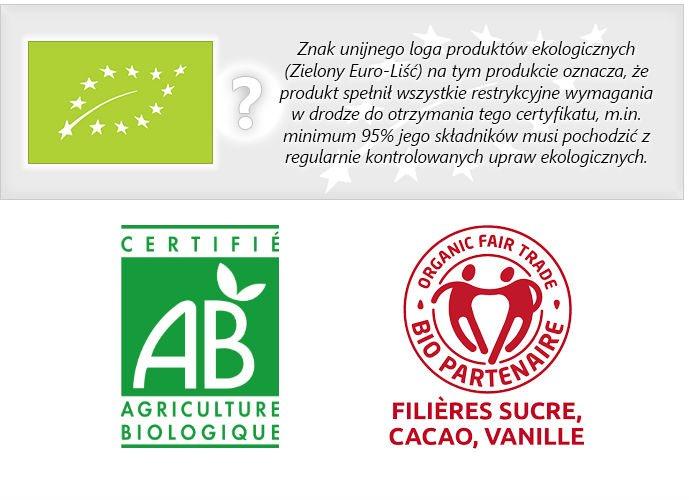 Kupując na tej aukcji masz pewność, że ten produkt posiada znak rolnictwa ekologicznego