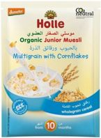 HOLLE - Kaszka Junior Muesli Wieloziarnista z Corn Flakes 25g EKO