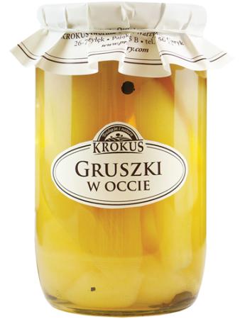 Gruszki W Occie Gruszka 700g Krokus Pyszneeko Pl