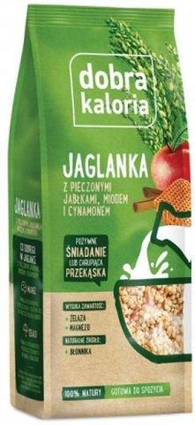 Jaglanka Pieczone Jabłka Miód Cynamon 150g - Dobra Kaloria..