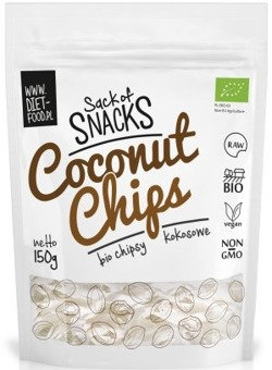 Coconut Chips BIO Chipsy Kokosowe 150g DIET-FOOD