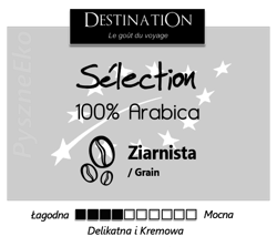 Destination Sélection Kawa 100% Arabica Ziarnista 1kg - EKO