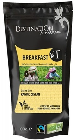 Herbata Czarna Breakfast Ceylon 100g - Destination