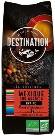 Kawa 100% Arabica Meksyk Ziarnista 250g - Destination