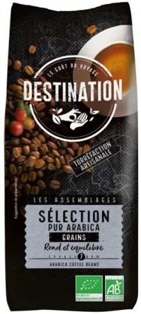 Kawa Sélection 100% Arabica Ziarnista 1kg - Destination