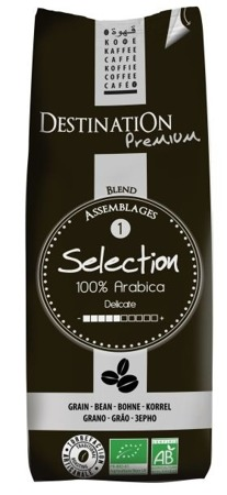 Kawa Sélection 100% Arabica Ziarnista 250g - Destination