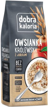 Owsianka Królewska z Jabłkami 320g - Dobra Kaloria..