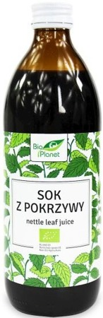 Sok z Pokrzywy 500ml - Bio Planet